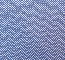 Bella Donna by Studio 8 BTY Quilting Treasures Blue & White Zig Zag Chevron