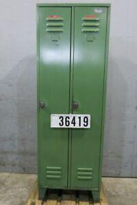 Dick Spind Umkleidespind Stahlspind Kleiderschrank Garderobe #36419