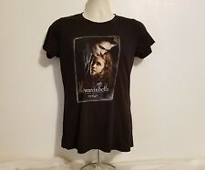 Edward & Bella Twilight Womens Small Black Movie TShirt