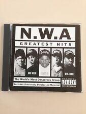 N.W.A - GREATEST HITS - CD