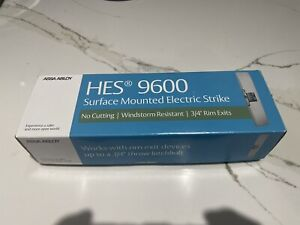 ASSA ABLOY HES 9600-12/24-530 9600 series Surface Mount Electric Strike