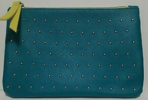 IPSY 100th Glam bag Teal w/ silver studs