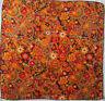 CODELLO   foulard Tour de cou 100% soie  en TBEG vintage  51 x 53 cm