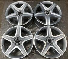 4 Orig AMG Mercedes-Benz Alufelgen 9Jx20 ET57 A1664012002 GLE W166 ML FM92