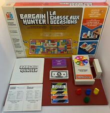 Bargain Hunter Board Game COMPLETE French & English Content **Box Well Used**