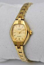 Vintage Ladies SOLINA Gold Tone Dress/Cocktail Watch, Quartz, Analog, Running