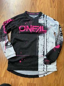Girls ONEAL motorcycle jersey shirt sz youth medium