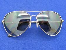 $16 Nordstrom *Fame* Aviator Sunglasses Gray Gradient Lenses Silvertone Frames
