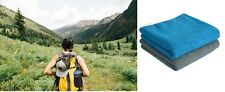2X Microfibre Travel Towel Lightweight Fast Quick Drying Gym Camping Sport Carry