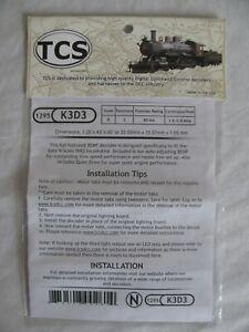 TCS 1295 K3D3 BEMF Decoder for Kato N Scale NW2 Diesel Switcher Locomotive