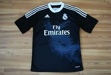 REPLICA SHIRT REAL MADRID JERSEY DRAGON 2014-2015 THIRD FOOTBALL SOCCER BALE M