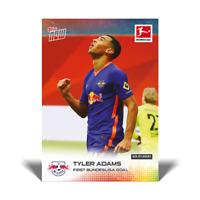 2020-21 TOPPS NOW Bundesliga Tyler Adams #110 RB Leipzig PR /453!