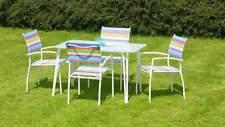 Capri Dining Outdoor Set 4 chair set rainbow ,colourful furniture