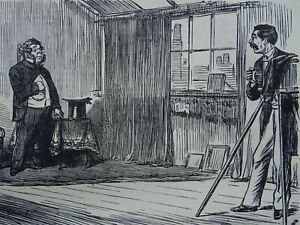 Carte de Vista Theme THE ARTFUL PHOTOGRAPHER Original 1862 Victorian Print