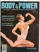 BODY & POWER female bodybuilding magazine /Suzanne Tigert/Lorii Bowen poster1-83