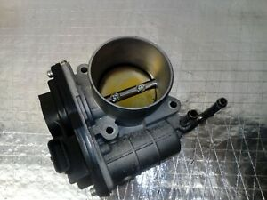 INFINITI M35H FRONT DRIVER SIDE THROTTLE BODY RME60-21