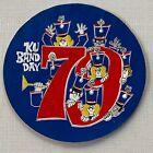 Vintage KU Band Day 1979 Decal Sticker University of Kansas Music Department