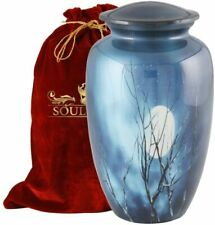 SOULURNS® - Midnight Moon Adult Cremation Urns for Human Ashes