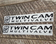 TWIN CAM MULTIVALVE REPLACEMENT DECAL STICKER T SUIT TOYOTA LANDCRUISER STICKERS