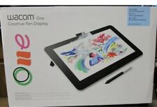 Wacom One Drawing Tablet w/Screen 13.3 inch Pen Display for Beginners NEW SEALED