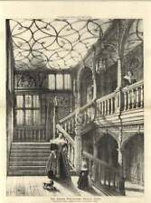 1886 Grand Staircase, Knole, Kent
