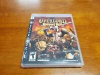 Overlord: Raising Hell (Sony PlayStation 3, 2008) PS3 CIB Complete TESTED