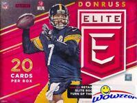 2016 Donruss Elite Football EXCLUSIVE Factory Sealed Hanger Box-AUTOGRAPH/MEM