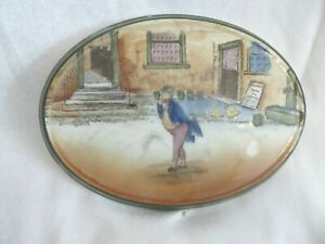 Royal Doulton - Dickens-Ware 'Mr Pickwick' - Oval Stand/Trivet Ceramic