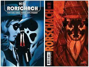 Rorschach #10 Cover A B Variant Set Options Frison Presale 7/13