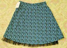 Joey B Girl Medium Blue Skirt Stretchy Comfort Modest