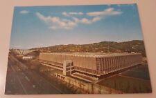Cartolina Torino Il Palazzo del Lavoro Italia 61 1961 Centenario Unità