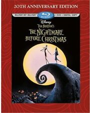 The Nightmare Before Christmas [New Blu-ray 3D] With Blu-Ray, With DVD, Annive