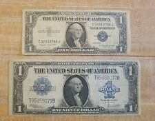 Series 1923 LARGE Nice $1 One Dollar US Silver Certificate Blue Bill, NR!