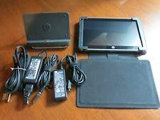"HP Slate 500 8.9"" Tablet  Intel Z540 2 GB Ram 64GB SSD Win 7 Pro + Accessories"