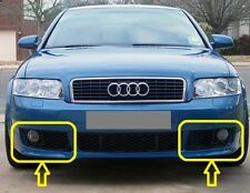Genuine AUDI A4 (B6) S-LINE Bumper Fog Light GRILL PAIR SET LEFT+RIGHT