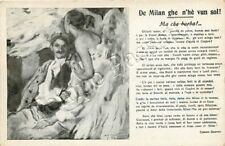 Prima guerra mondiale, Croce Rossa - Soldato milanese ferito / Versi di Colombo
