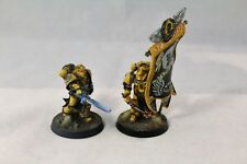 Warhammer Space Marine Imperial Fists FW Command Banner