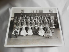 John Cholerton Roxboro Philadelphia Costume Garden Veg Class Photo Kid 1920s-30s