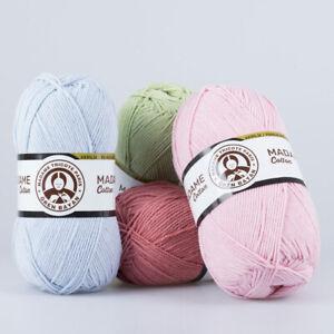 Amigurumi Ören Bayan Tricote Madame Cotton 100g 51% Acryl 49% Baumwolle ORLON