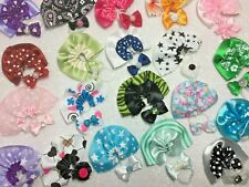 Littlest Pet Shop LPS 6 PC Clothes ACCESSORIES Random 3-Bows 3-Skirts No Cat/Dog