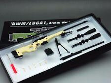 1:6 Scale minitoys AWML96A1 PM Sniper Rifle Sand Color Gun Model Toy