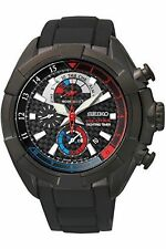 Seiko Men's Silicone/Rubber Band Wristwatches