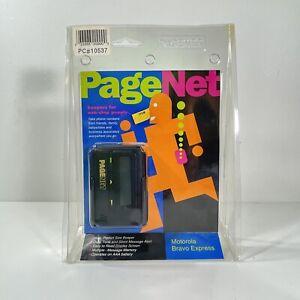 NEW Motorola Bravo Express NIB Pagenet nostalgia 80s 90s Vintage Retro Tech