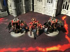warhammer 40k chaos space marine obliterators customized