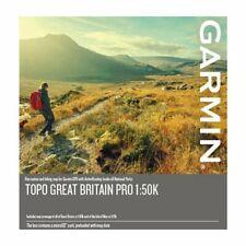 Garmin Topo Gran Bretaña Pro 1:50K microSD/SD tarjeta 010-12772-00