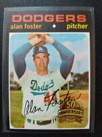 ALAN FOSTER 2020 Topps Heritage 1971 50th Anniversary Buyback YANKERS