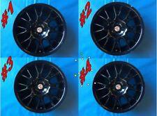 """MG F/TF 16"""" Multi Spoke Alloy Wheel Set Part#: RRC110460 Black (Fits 160 Brakes)"""