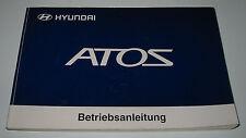Betriebsanleitung Hyundai Atos ohne Besitzer Eintrag Bedienungsanleitung 97-2002