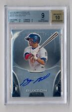 BYRON BUXTON 2013 BOWMAN STERLING AUTO ROOKIE RC MINT BGS 9 10 TWINS (#2)