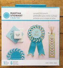 Martha Stewart Cut And Fold Paper Punch Cove Set